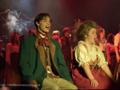 high school musical, traverse city central high school, les miserables, nicholas hains, abe stone, javert, old mission peninsula, old mission, old mission michigan, traverse city, tcmi, old mission gazette