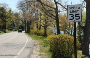 peninsula drive, peninsula township, old mission peninsula, old mission, old mission michigan, old mission gazette, peninsula township speed limits, old mission peninsula speed limits,