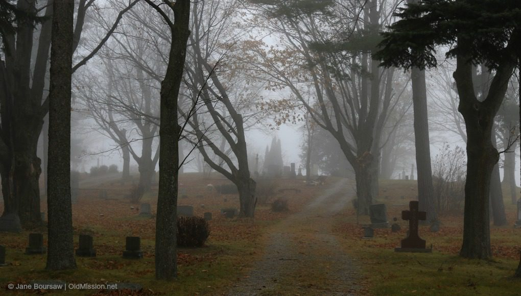 ogdensburg cemetery, ogdensburg umc, old mission peninsula united methodist church, walter johnson, stella johnson, old mission peninsula, old mission, old mission michigan, michigan, michigan cemeteries, old mission gazette