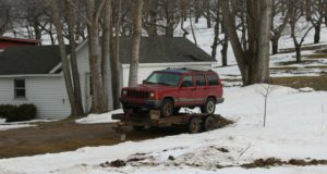 reality wednesday, jeep, jane's world, old mission gazette, old mission peninsula, old mission, old mission michigan, winter, northern michigan, peninsula township