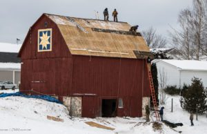 johnson barn, barns of old mission peninsula, dean johnson, laura johnson, walter rude, ruth rude, aspen contracting, old mission peninsula, old mission, old mission michigan, peninsula township, old mission gazette