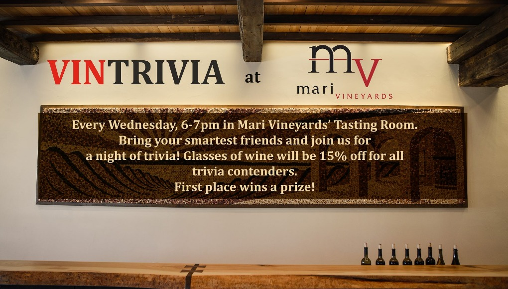 mari vineyards, trivia night, wineries of old mission peninsula, old mission peninsula, old mission, old mission michigan, wineries, old mission gazette, peninsula township