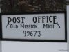 old mission post office, old mission peninsula, old mission, old mission michigan, old mission news, old mission gazette, northwest michigan, usps, peninsula township