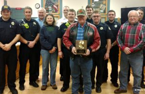 Retired PFD Fire Chief Rich VanderMey Honored | Maura Sanders Photo