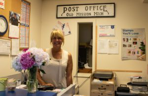 old mission post office, old mission postmistress, old mission news, old mission peninsula, old mission, old mission michigan, peninsula township, old mission gazette
