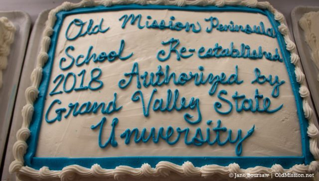 omps, old mission peninsula school, grand valley state university, gvsu, charter schools, allison o'keefe, thomas haas, ompef, old mission peninsula education foundation, tcaps