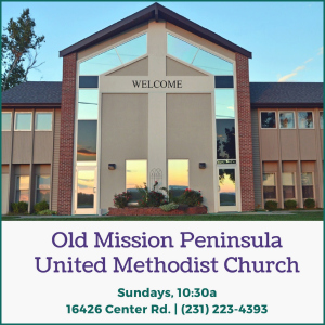 Old Mission Peninsula United Methodist Church, omp, old mission peninsula, old mission, old mission michigan, old mission gazette, old mission churches, peninsula township