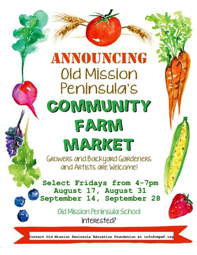 farm market, farm and art market, art market, omps, old mission peninsula education foundation, old mission peninsula school, ompef, old mission gazette, buy local, peninsula township, old mission peninsula, old mission, old mission farms, old mission artists