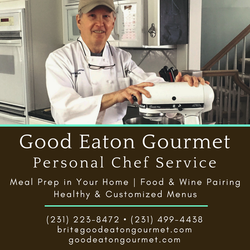 brit eaton, good eaton gourmet, personal chef service, old mission peninsula, old mission, old mission michigan, old mission chef service, old mission gazette, peninsula township