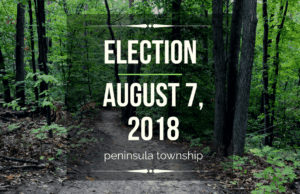 election, august election, august election ballot, peninsula township, old mission peninsula, old mission gazette