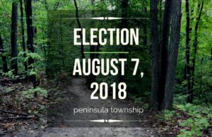 election, august election, august election ballot, peninsula township, old mission peninsula, old mission gazette