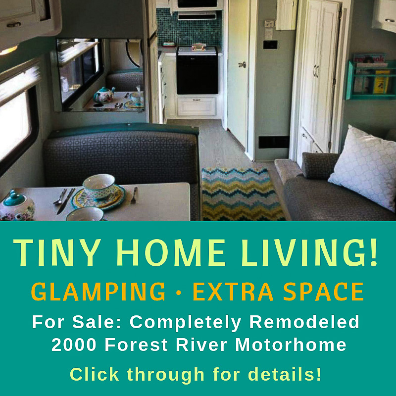 for sale, completely remodeled 2000 forest river motorhome, tiny home living, glamping, extra space, motorhome, traverse city, old mission peninsula, old mission gazette, northwest michigan, RV, RV Life, RV for sale