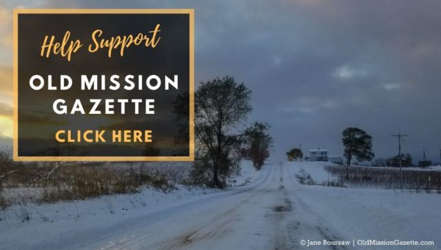 Help Support Old Mission Gazette and Local Journalism