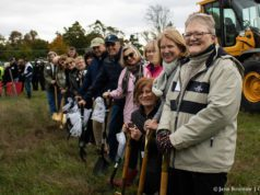 peninsula community library, pcl, groundbreaking, old mission gazette, old mission peninsula, old mission news, old mission, old mission michigan, traverse area district library, vicki shurly, heatherlyn johnson reamer, grand traverse construction, cornwell architects, gosling czubak, peninsula township, nancy davy, monnie peters, roger myers, martha myers, bewitched farm, peninsula fire department, christy kuhnke, tom's food markets