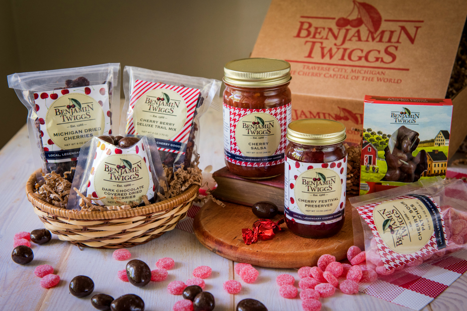 benjamin twiggs cherry products, julie millen, omp holiday gift guide, christmas, buy local, traverse city gift guide, northern michigan gift guide, old mission gazette, old mission peninsula store, ompstore, old mission peninsula, old mission, old mission michigan, pure michigan, old mission peninsula gift guide, old mission peninsula businesses