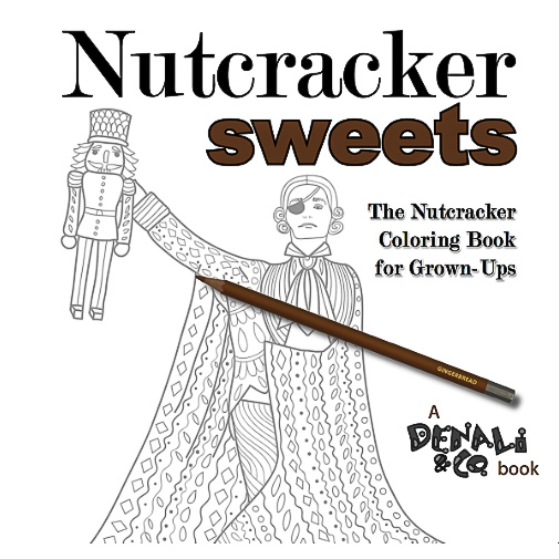 nutcracker sweets, nutcracker coloring book, kris hains, omp holiday gift guide, christmas, buy local, traverse city gift guide, northern michigan gift guide, old mission gazette, old mission peninsula store, ompstore, old mission peninsula, old mission, old mission michigan, pure michigan, old mission peninsula gift guide, old mission peninsula businesses