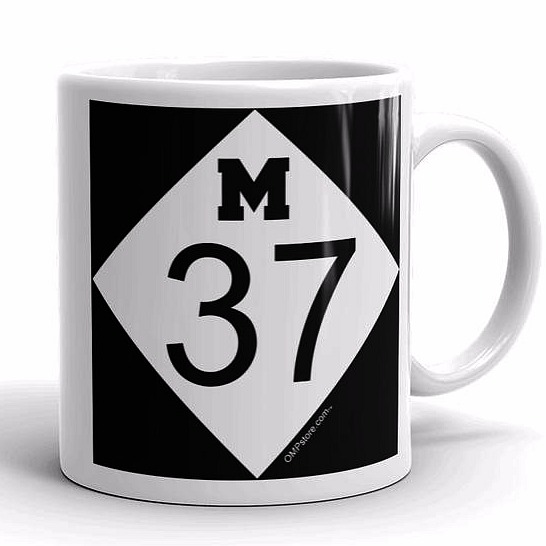 ompstore, M37, M37 coffee mug, old mission peninsula store, old mission gazette, old mission peninsula, old mission products, old mission tshirts, old mission apparel, old mission, old mission michigan, peninsula township