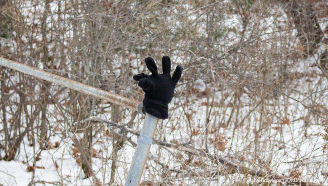 glove, lost glove, haserot beach, old mission gazette, old mission peninsula, old mission, old mission michigan