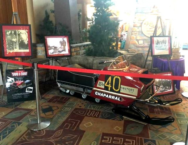 Don Brown's I-500 Snowmobile Replica, built by nephew Steve DuCheney