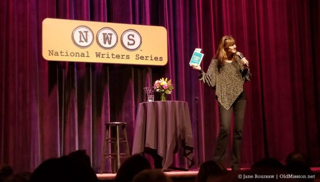 jane and ruthanne's excellent adventures, jen sincero, national writers series, traverse city, you're a badass, old mission gazette, traverse city news, michigan, city opera house