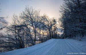 Neahtawanta Road on the Old Mission Peninsula