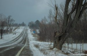 Center Road on the Old Mission Peninsula