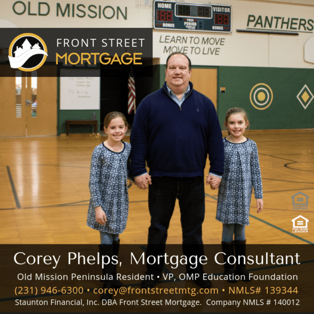 Corey Phelps of Front Street Mortgage in Traverse City Michigan