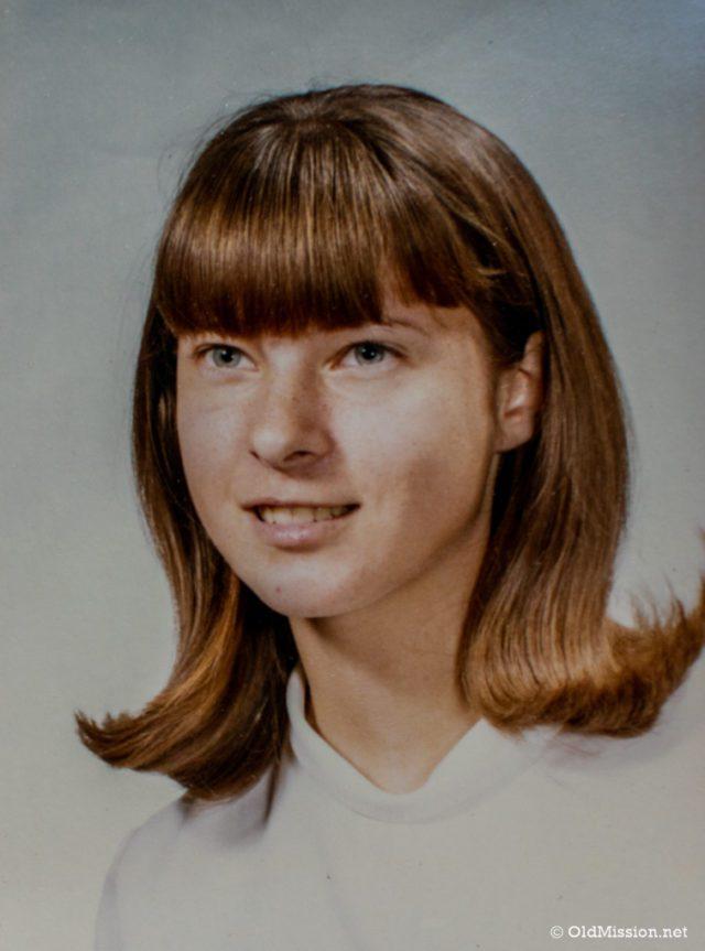 Carolyn Lewis, circa 1960s | OMPS School Photo