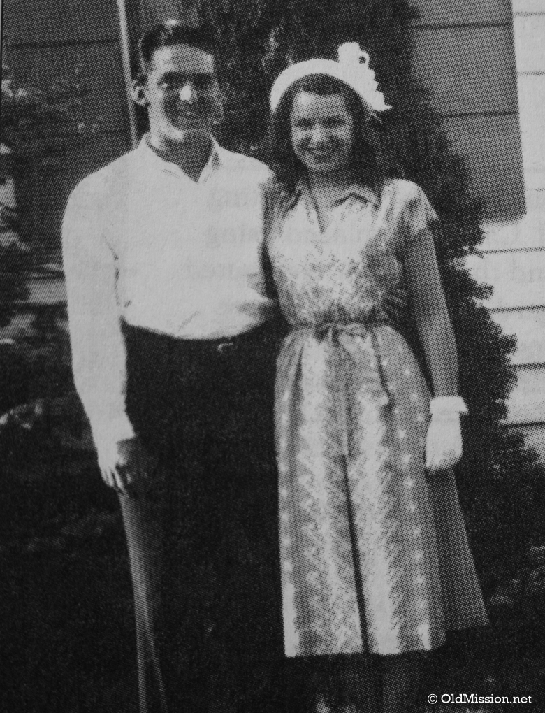 Jack and Vi Solomonson, Owners of the Peninsula Telephone Company