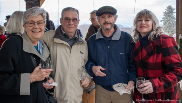Mission Point Lighthouse Wine Label Reception at Bowers Harbor Vineyards, Jane Boursaw Photo