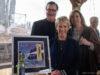 Mission Point Lighthouse Wine Label Reception at Bowers Harbor Vineyards, Jane Boursaw Photo