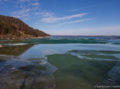 April 8, 2019: Open water at The Bluffs on the Old Mission Peninsula
