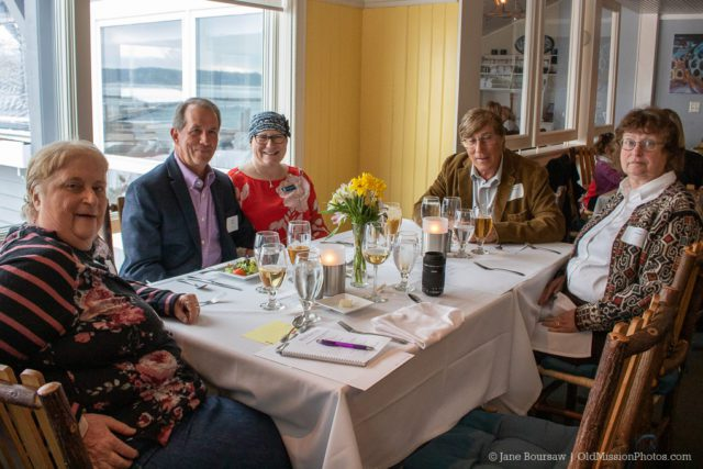 Books at the Boathouse 2019 fundraiser for Peninsula Community Library on the Old Mission Peninsula