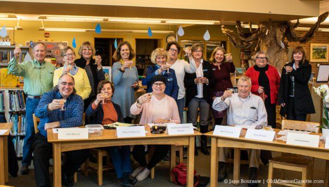 Peninsula Community Library Celebrates Fundraising Goal on the Old Mission Peninsula