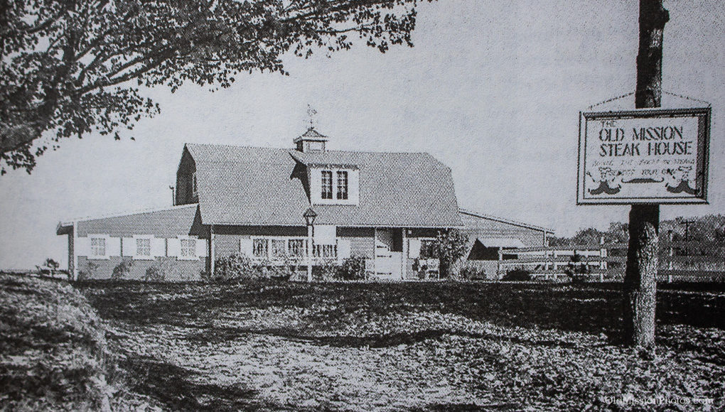 Old Mission Steak House on the Old Mission Peninsula, 1950s