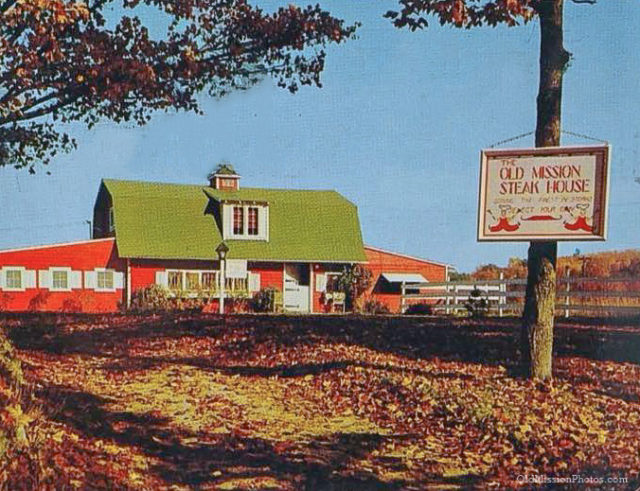 Old Mission Steak House on the Old Mission Peninsula