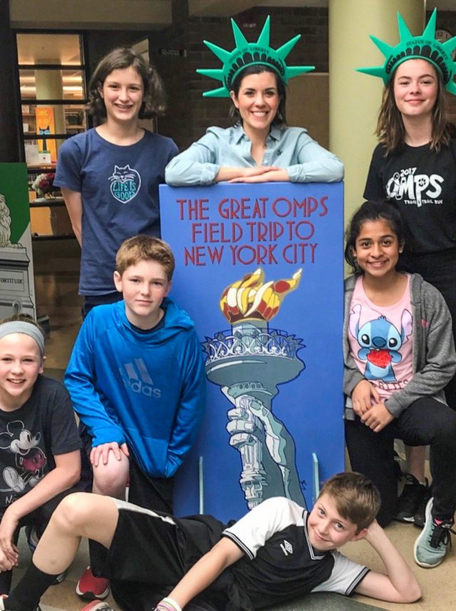 Old Mission Peninsula School Sixth Grade Class Heading to NYC