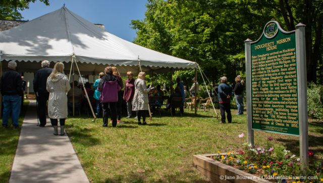 June 15, 2019: Dougherty House Dedication | Jane Boursaw Photo