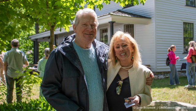 June 15, 2019: Ross and Brenda Biederman at the Dougherty House Dedication | Jane Boursaw Photo