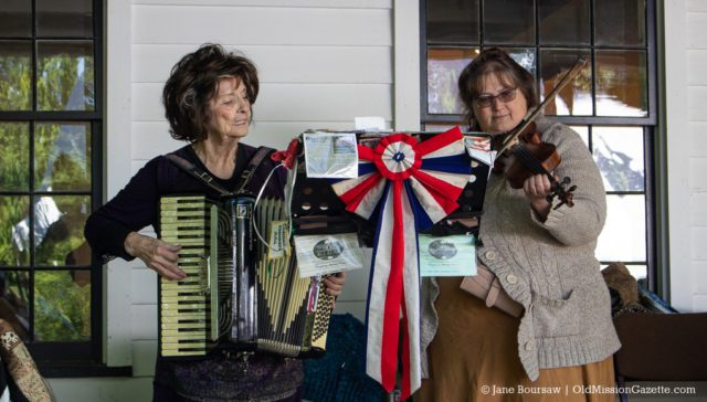 June 15, 2019: Music was provided by Helen Herzberg, Chuck Myers and Chantelle Strong at the Dougherty House Dedication | Jane Boursaw Photo