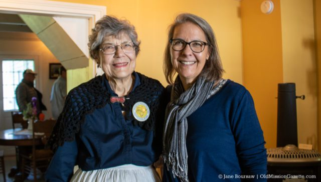 June 15, 2019: Susan Feiger and her daughter Dawn at the Dougherty House Dedication | Jane Boursaw Photo