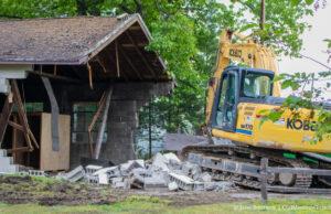 Lawrence Mlujeak Garage Demolished in Old Mission Michigan