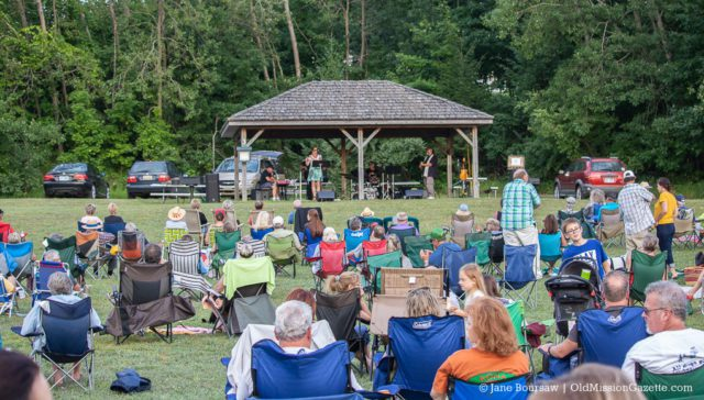 Jeff Haas and Don Julin and their Big Fun Band at the Bowers Harbor Concert Series | Jane Boursaw Photo