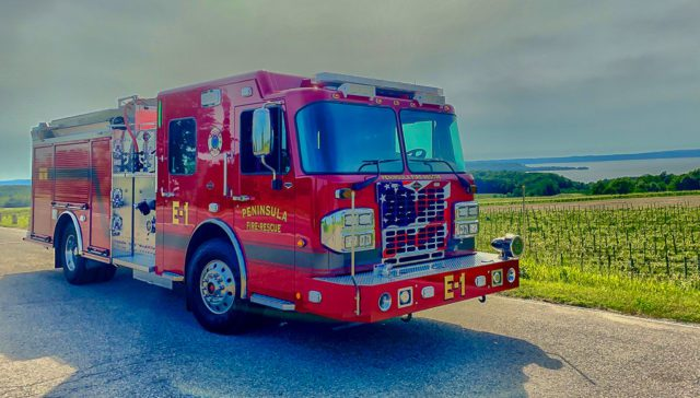 Peninsula Fire Department New Engine