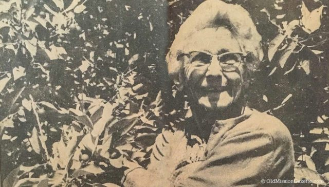 Rosa Dohm, Grand Marshal of the National Cherry Festival 1974