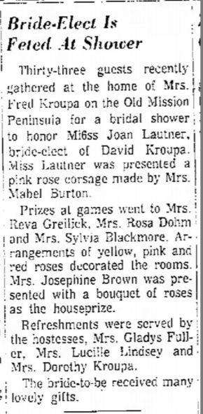 Traverse City Record-Eagle story dated June 20 1968