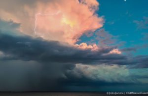 Storm Over West Bay on the Old Mission Peninsula