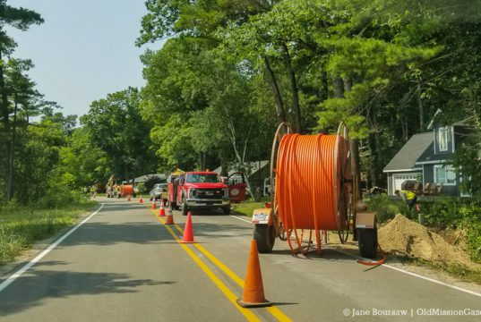AcenTek Fiber Optic Project on the Old Mission Peninsula, Angel