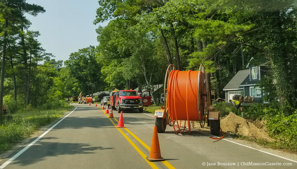 AcenTek Fiber Optic Project on the Old Mission Peninsula