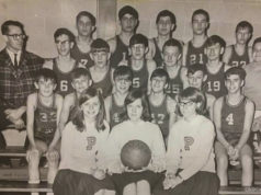 Old Mission Peninsula School Basketball Team Circa 1960s | Dave McManus Photo